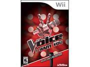 The Voice w microphone Wii