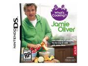 What's Cooking Jamie Oliver Nintendo DS Game