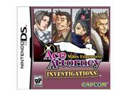 Ace Attorney Investigations: Miles Edgeworth Nintendo Ds Game Capcom Picture