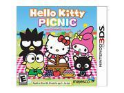 Hello Kitty Picnic Nintendo 3DS Game
