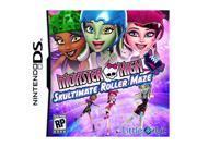 Monster High: Skultimate Roller Maze Nintendo DS Game