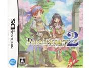 Rune Factory 2 A Fantasy Harvest Moon Nintendo DS Game