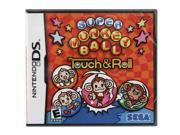 Super Monkey Ball: Touch And Roll Nintendo Ds Game Sega Picture