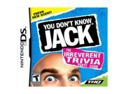 You Don't Know Jack Nintendo DS Game