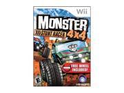 Monster 4x4 Stunt Racer w/Wheel Wii Game