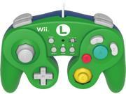 HORI Battle Pad for Wii U (Luigi Version) with Turbo
