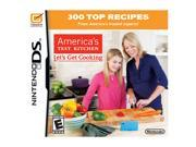 America's Test Kitchen: Let's Get Cooking Nintendo DS Game