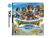 Dragon Quest IX: Sentinels of the Starry Skies lets you enjoy an adventure that is entirely your own, yet can be shared with others anywhere, anytime. You begin the adventure as an angel-like guardian who is sent to retrieve the magical fruits of a sacred tree, which have the power to grant wishes, and set off on an incredible quest with three other companions. ESRB Rating: E10  for Everyone 10  Genre: Action Features: Dragon Quest IX: Sentinel of the Starry Skies is an RPG adventure game with an epic story of magical characters and lands, aimed at changing the typical RPG experience. Players put their stamp on their adventure by customizing their hero character with everything from hair styles, costume changes, weapons and even their occupation! Players will enjoy the exclusive multiplayer mode for fun with friends, the Tag Mode for stats and treasure map sharing and the online store for fresh, fun content year round.  Features  An adventure starring your hero!- Create your own character and customize your look! Collect outfits and accessories to make your brave adventurer wear anything from chainmail to a tuxedo! (Unique in that most RPG's don't let you choose/customize your character)  Link up wit...