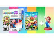 Mario Party 10 + Mario Amiibo Bundle Nintendo Wii U