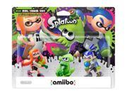 Nintendo Splatoon Amiibo 3 Pack