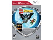 Lego Batman Wii W/Batman DVD Movie  Wii