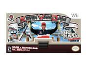 Kevin Van Dam Fishing Big Bass Challenge w/Fishing Rod Wii Game
