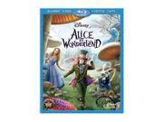 Alice In Wonderland (Live) (BR / DVD / DC / 3 DISC Combo Pack / Dolby Digital) Mia Wasikowska, Johnny Depp, Helena Bonham Carter, Anne Hathaway, Crispin Glover, Matt Lucas, Stephen Fry, Michael Sheen,
