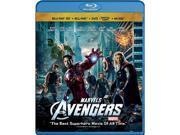 The Avengers (3D Blu-ray + DVD + Digital Copy + Music Download + Blu-ray) Robert Downey Jr., Chris Evans, Chris Hemsworth, Mark Ruffalo, Jeremy Renner