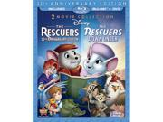 The Rescuers / The Rescuers: Down Under (Three-Disc Blu-ray/DVD Combo in Blu-ray Packaging) 9SIAA763US9432