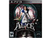 Alice Madness Returns Playstation3 Game