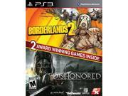 Borderlands 2 & Dishonored Bundle PlayStation 3