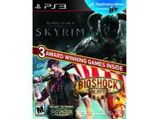 Elder Scrolls V: Skyrim & Bioshock Infinite Bundle PlayStation 3