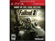 Fallout 3 Game of the Year PlayStation 3