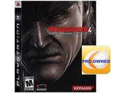 Pre-owned Metal Gear Solid 4: Guns of the Patriots  PS3