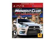 Midnight Club Los Angeles Complete Edition PlayStation 3