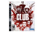 The Club Playstation3 Game SEGA