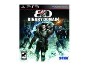 Binary Domain Playstation3 Game