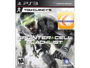 Pre-owned Tom Clancy's Splinter Cell Blacklist PS3