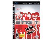Disney Sing It: High School Musical 3: Senior Year PlayStation 3