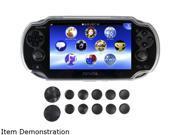 CTA Digital Playstation Vita TPU Bumper w/Extra Pads