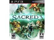Sacred 3 PlayStation 3