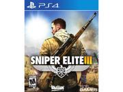 Sniper Elite V3 PlayStation 4 Brand: 505 Games ESRB Rating: M - Mature Genre: Shooter Platform: PlayStation 4 (PS4) Features: Sniper Elite 3 sees American OSS agent Karl Fairburne on assignment in North Africa during WWII to assist intelligence efforts and provide sharpshooter skills to Allied forces within exotic, rugged and open land