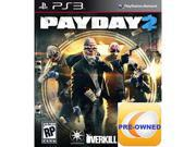 Pre-owned Payday 2 PS3