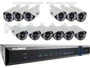 LorexLH16243TC129B 24-Channel 960H 24-Channel 3TB DVR with 12 900TVL Cameras