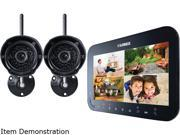 Lorex LW1742 4Ch. + 2 Wireless Day/Night Outdoor Camera System, 4GB Micro SD Card Included