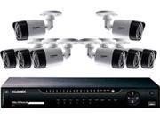 Lorex LHV10162TC8  16-Channel 8 Bullet Cameras w/ 1TB 1080p HD HDD DVR Security System