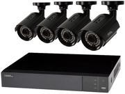 Q-See 8-Channel Full HD 1080p Security System with 4 AHD 1080p Day/Night Bullet Cameras (QTH83-4CN)