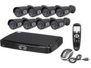 Night Owl B-A720-162-8 16 Channel Smart HD Video Security System w/ 2TB HDD and 8 x 720p AHD Cameras