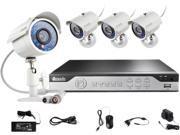 Zmodo KHI4-YARUZ4ZN 4 Channel Video Compression: H.264 Audio Compression: G.711 4CH H.264 960H DVR Security System with 4 700TVL IR Cameras