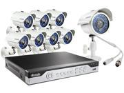 Zmodo KHI8-YARUZ8ZN-1T 8 Channel H.264, 960H DVR Security System w/ 1TB HDD and 8 x 700TVL Night Vision w/IR Cut Outdoor Cameras