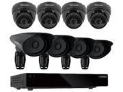 DEFENDER PRO CONNECTED 21184 16CH H.264 1 TB Smart Security DVR  with 4 PRO/4 Dome Cameras and Smart Phone Compatibility