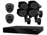 DEFENDER PRO CONNECTED 21187 8CH H.264 1 TB Smart Security DVR  with 4 PRO / 2 Dome Cameras and Smart Phone Compatibility