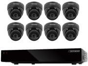 Defender 21092 8 Channel H.264 Level 500GB Smart Security DVR with 8 Ultra Hi-res Outdoor Surveillance Cameras