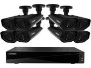 Defender 21156 16 Channel H.264 Level Widescreen Security DVR with 2TB of Storage Including 8 Surveillance 800TVL Cameras