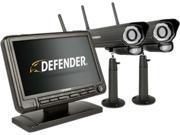 "Image of Defender PHOENIXM2 Digital Wireless 7"" Monitor Security DVR & 2 Night Vision Cameras"