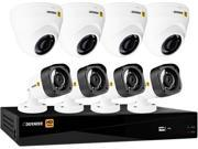 Defender HD1T8D4B4 8 Channel HD 1080P 8CH with 4 Dome Cameras 4 Bullet Cameras