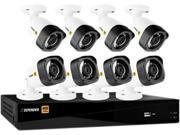 Defender HD2T16B8 16 Channel HD 1080P 16CH with 8 Bullet Cameras