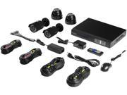 Amcrest AMDV960H4-4B 4 Channel 4-Channel 960H HD 500GB DVR Security Camera System with 4 x 800+ TVL Bullet Cameras
