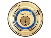 Kwikset Kevo 99250-001 Polished Brass Smart Lock with Bluetooth enabled deadbolt for iPhone 4S, 5, 5C & 5S, 6 and 6 Plus