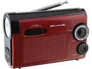 WEATHER-X AM/FM Weatherband Radio - WR182R